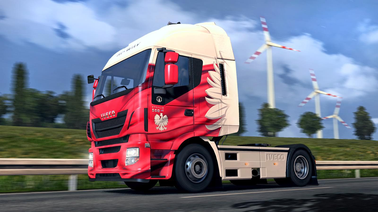 Раскраска для машин для euro truck simulator 2