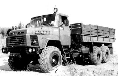 В spintires могут добавить  КрАЗ - 260