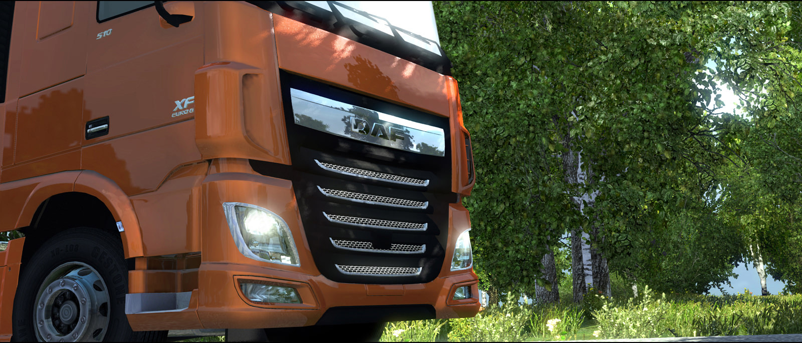 ETS 2: Новый грузовик DAF XF Euro 6 почти готов