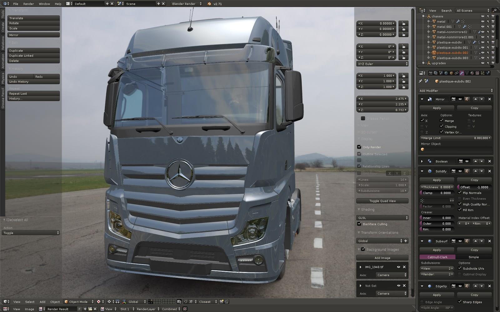 Грузовик Mercedes-Benz New Actros, над чем сейчас трудятся разработчики ETS 2