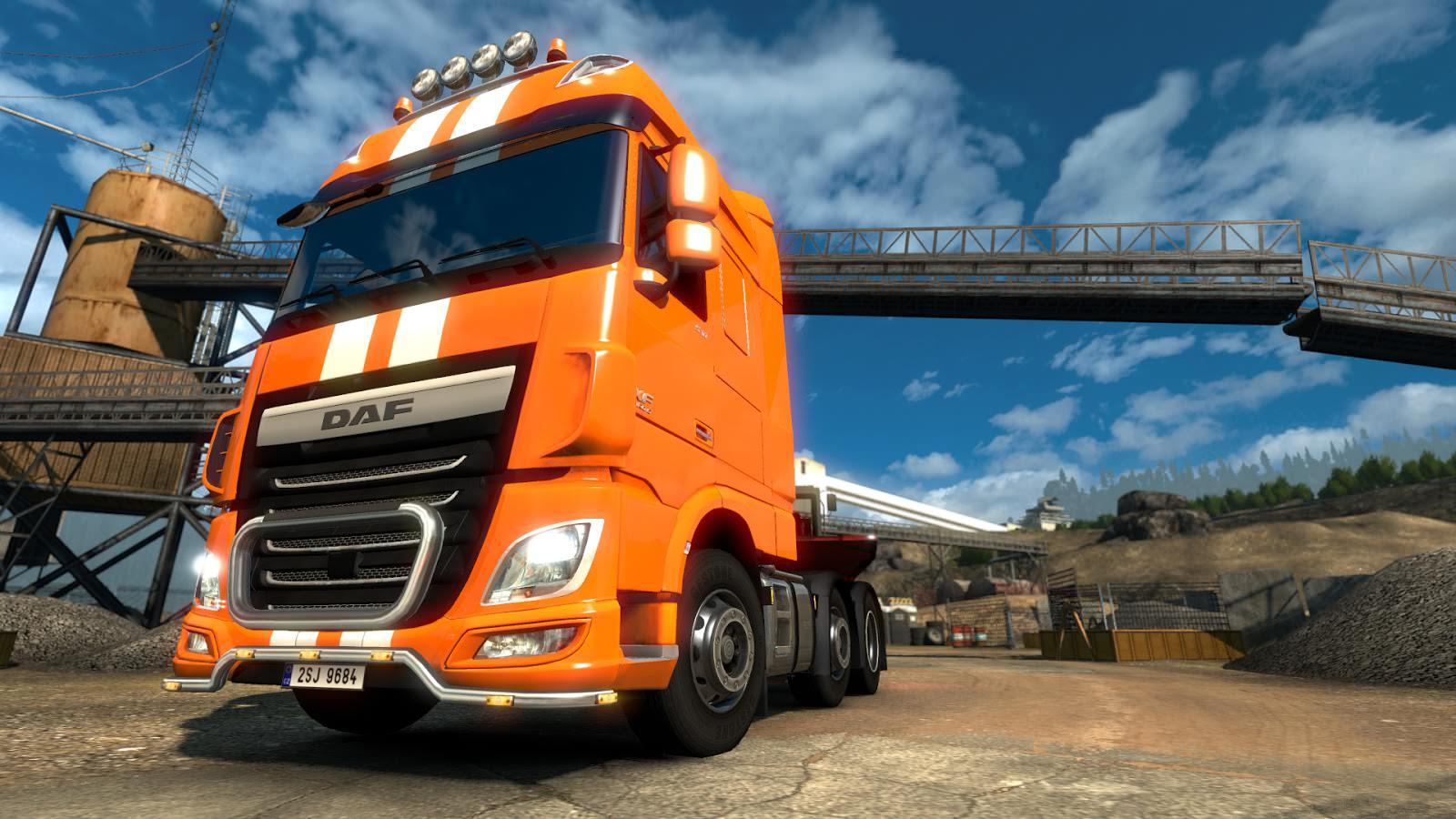 Вышло обновление 1.14 для Euro Truck Simulator 2