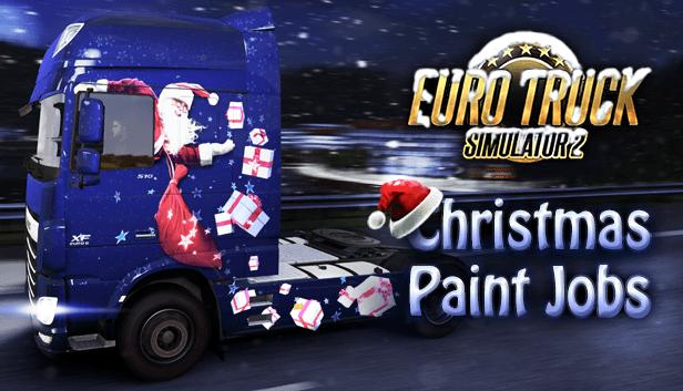 ETS 2: Последний шанс получить Christmas Paintjobs DLC бесплатно