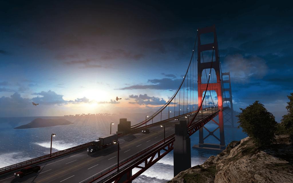 Разница в разработке GTA V и American Truck Simulator
