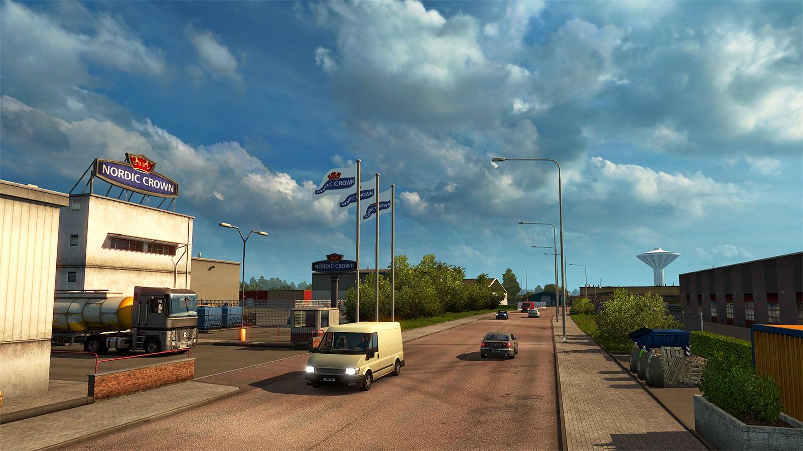 Скандинавия: окрестности города Эребру