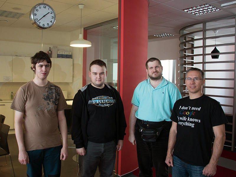 В гостях у SCS Software