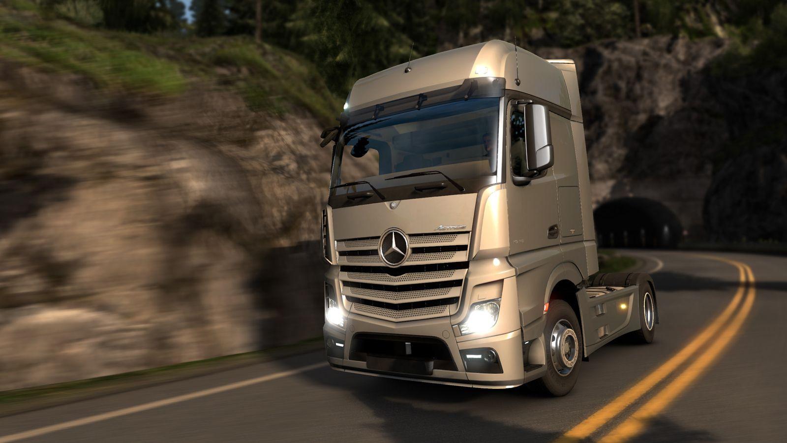 В ETS 2 скоро появится Mercedes-Benz New Actros