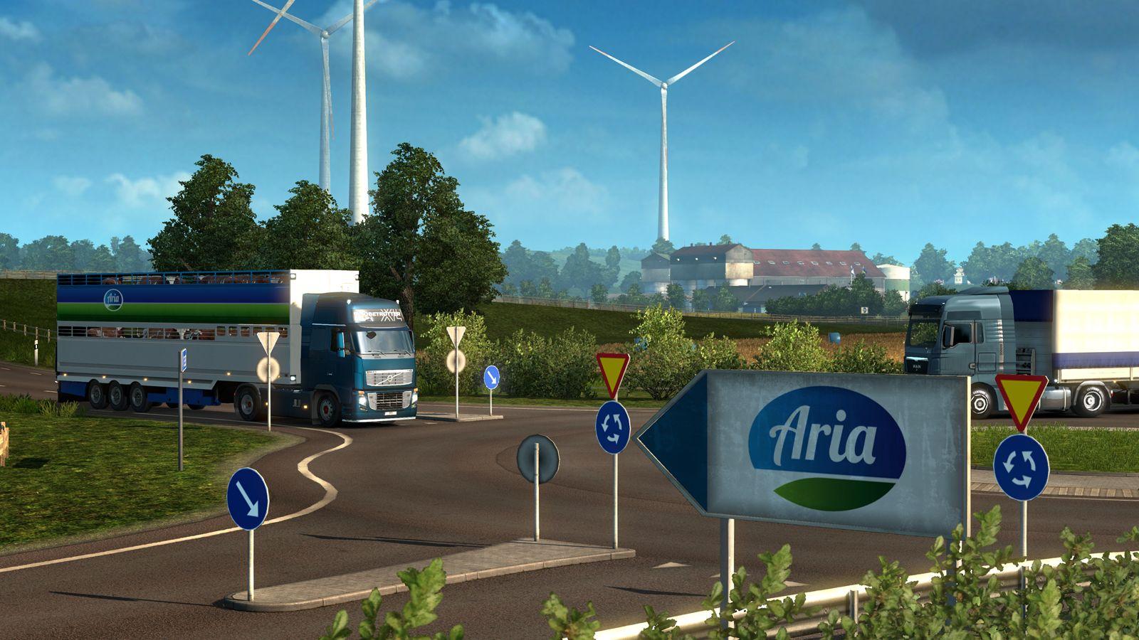 Scandinavia: Новые грузы и изменения в системе грузоперевозок ETS 2