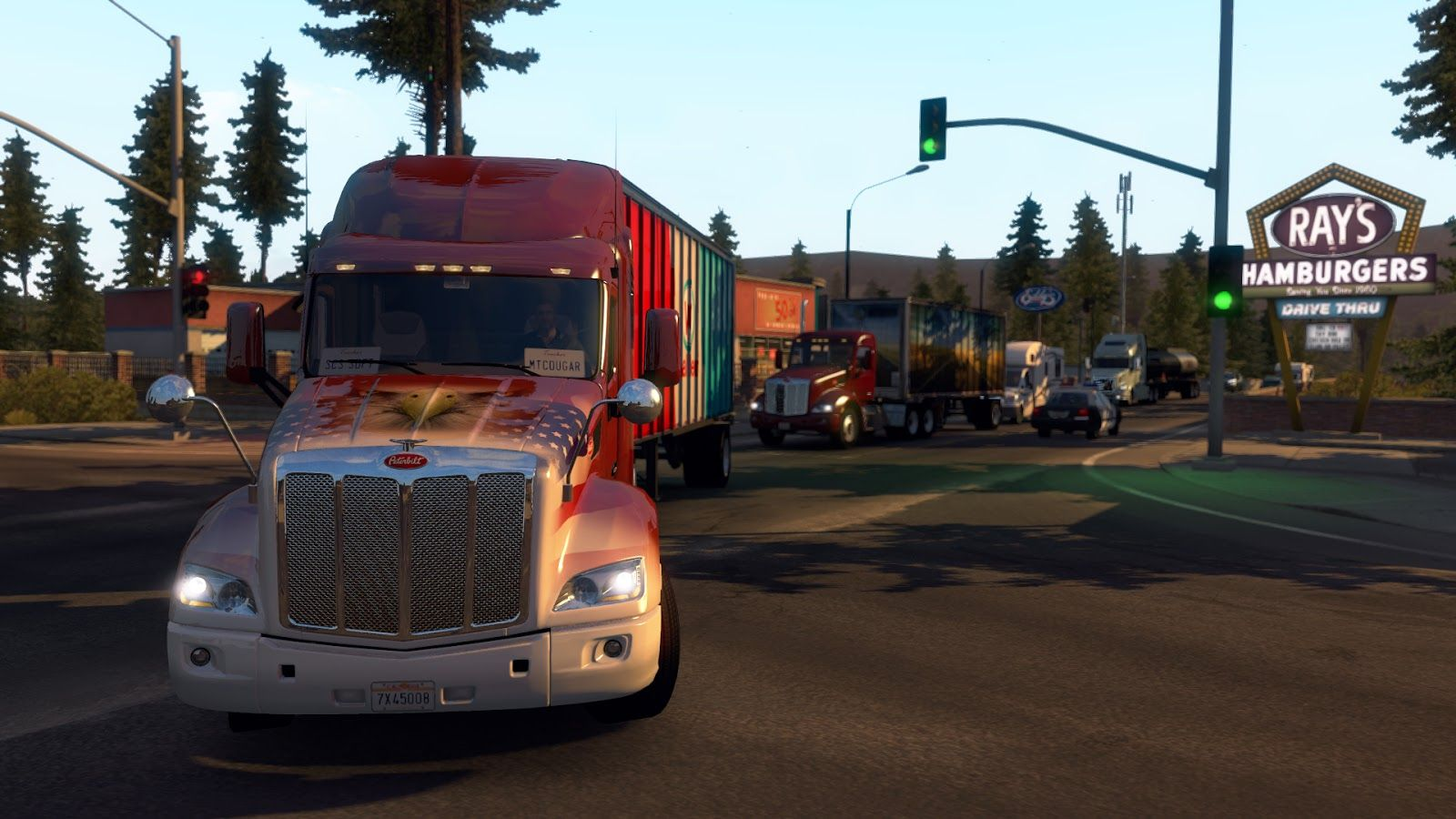 American Truck Simulator: пасхалки