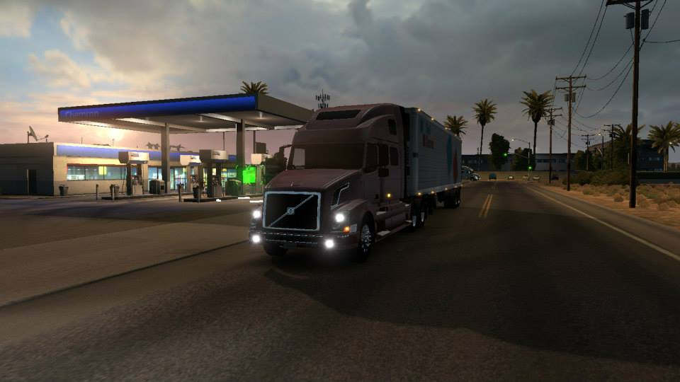 4 скриншота Volvo VNL из игры American Truck Simulator