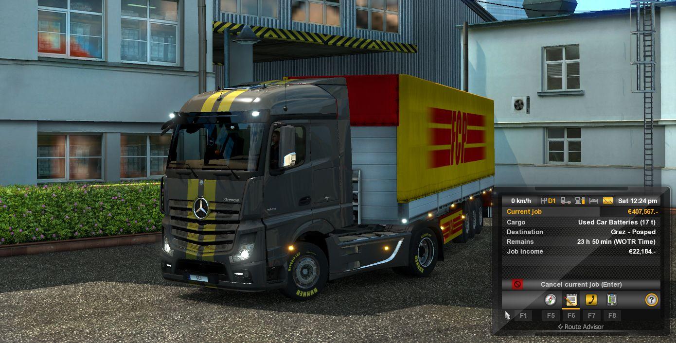 Близится обновление портала World Of Trucks и ETS 2 до версии 1.22