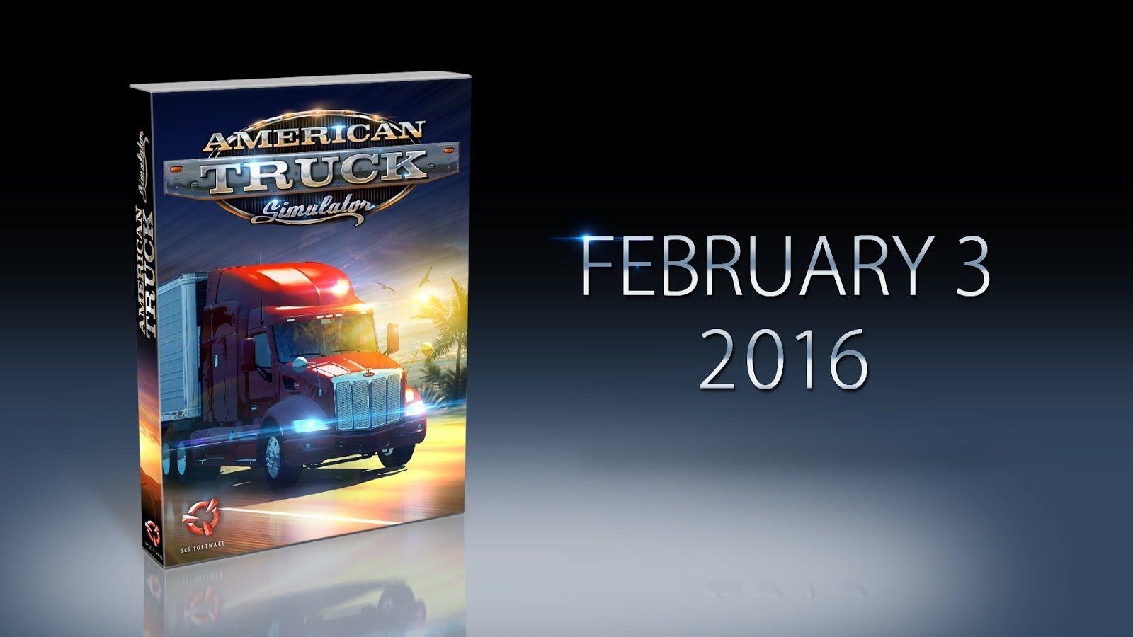 American Truck Simulator: дата выхода 03.02.2016