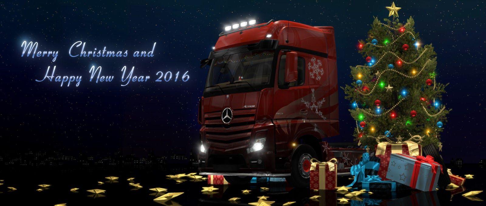 SCS Software: С наступающим Новым 2016 годом и Рождеством!