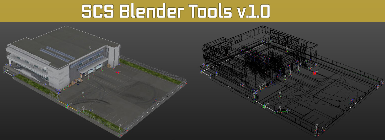 SCS Blender Tools: версия 1.0