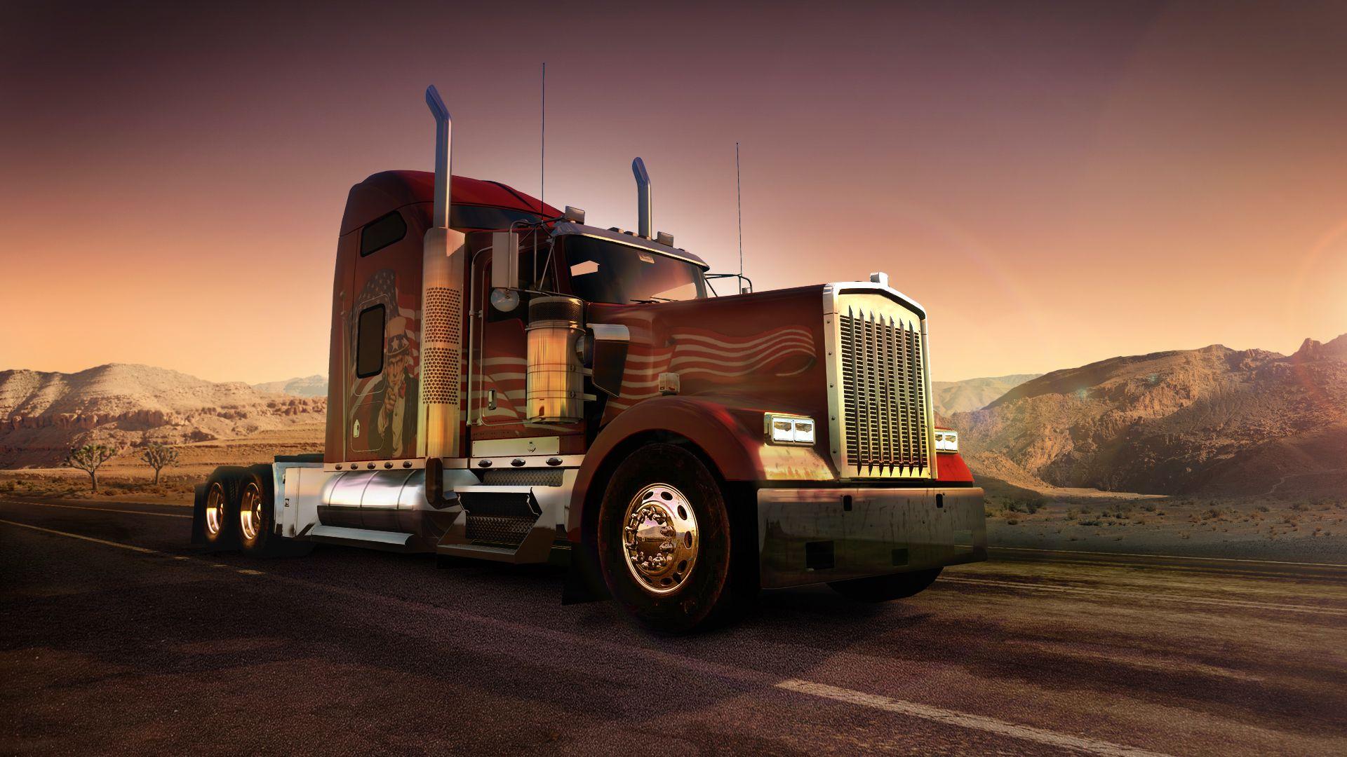 American Truck Simulator: немного новой информации