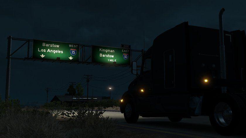 American Truck Simulator: обновление 1.2 (Открытый бета-тест)