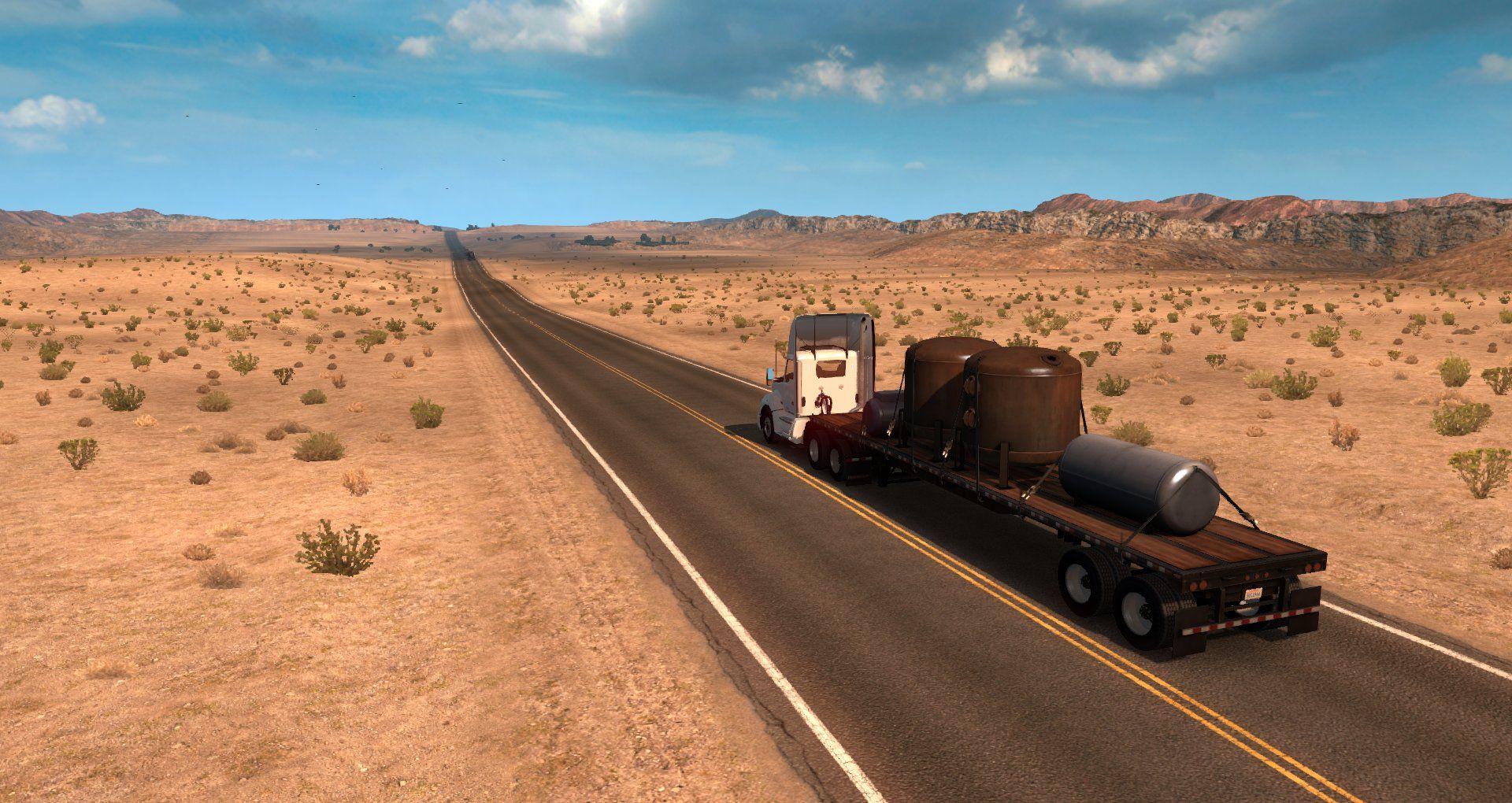 American Truck Simulator: обзор игры от PC Gamer