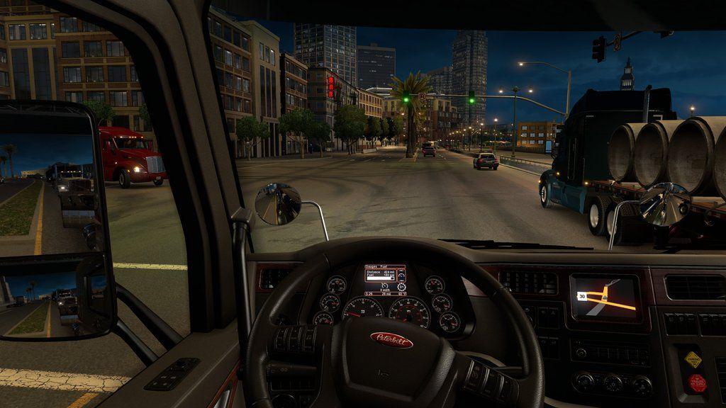 American Truck Simulator: реалистичность