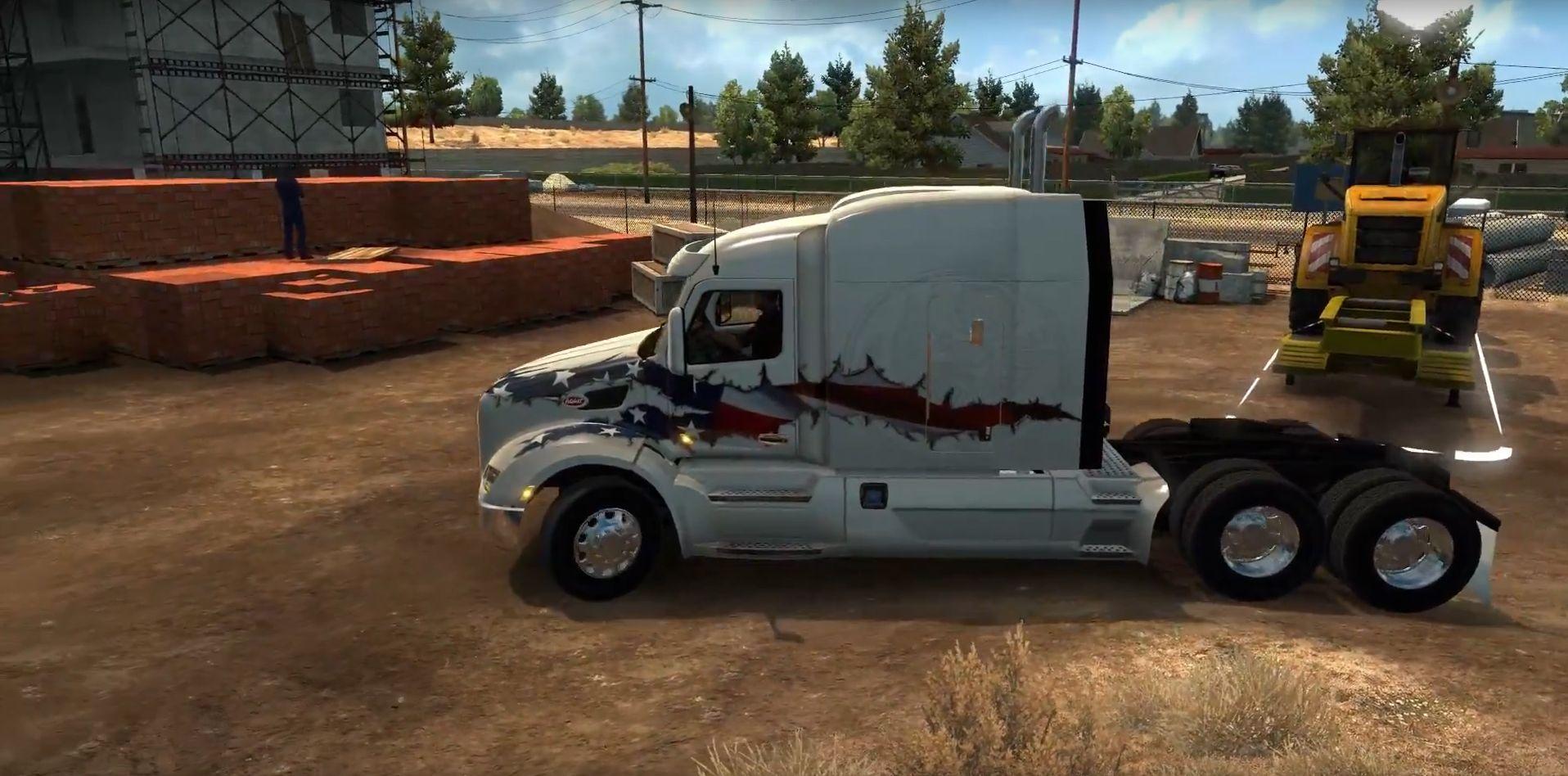American Truck Simulator: Дневники дальнобойщика от Squirrel