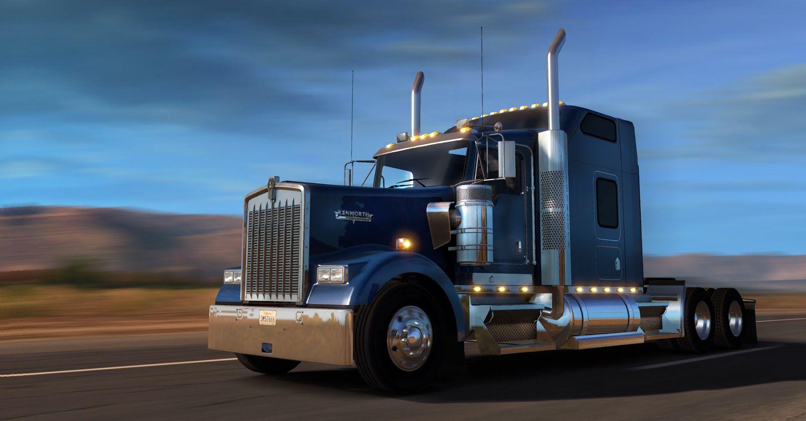 Kenworth W900 уже доступен в American Truck Simulator