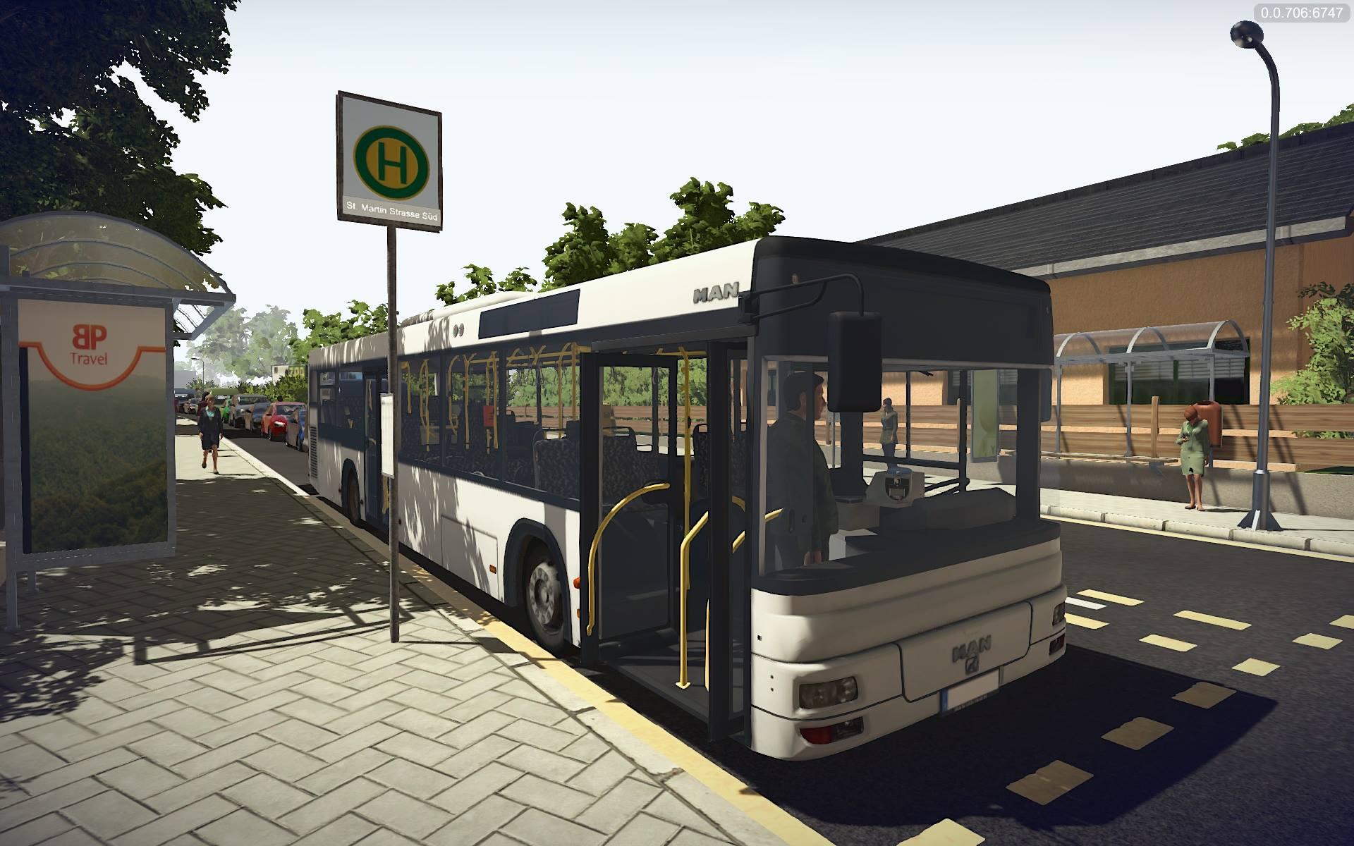 Bus Simulator 16: просмотр всех районов города [Видео]