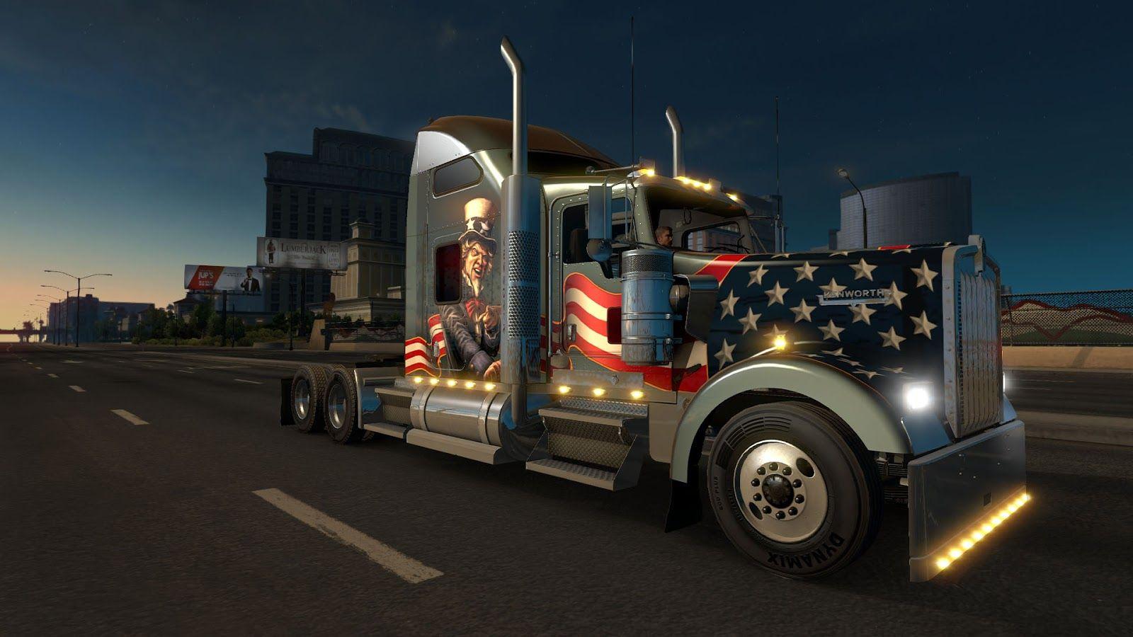 American Truck Simulator: Kenworth W900 уже на подходе