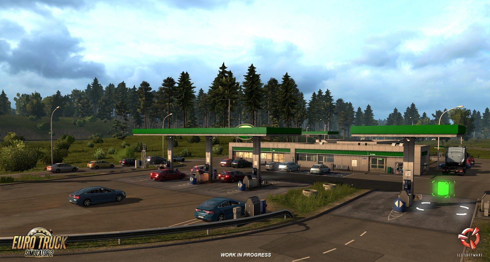 Euro Truck Simulator 2: небольшой взгляд на Францию