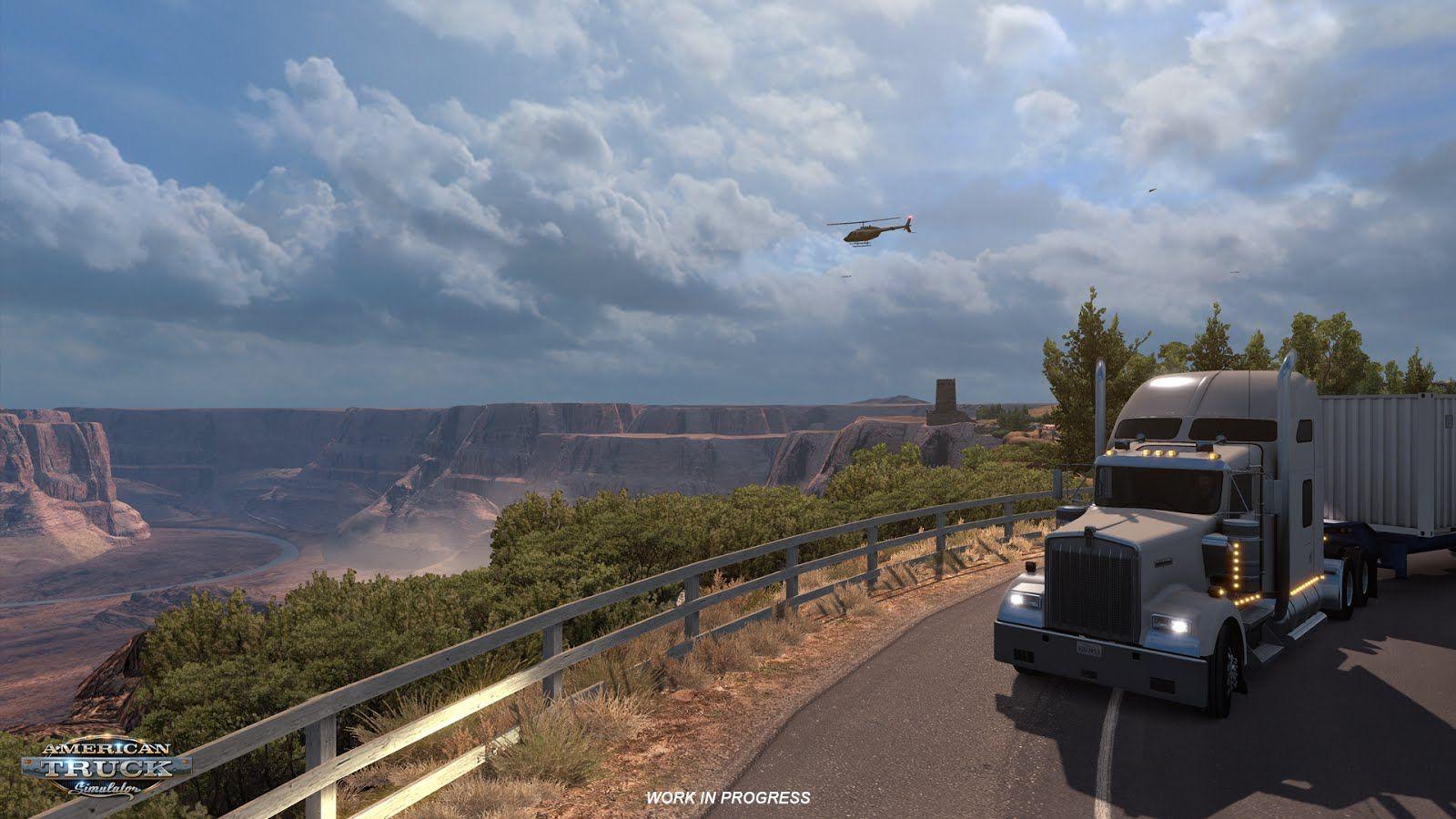 Великий каньон в American Truck Simulator