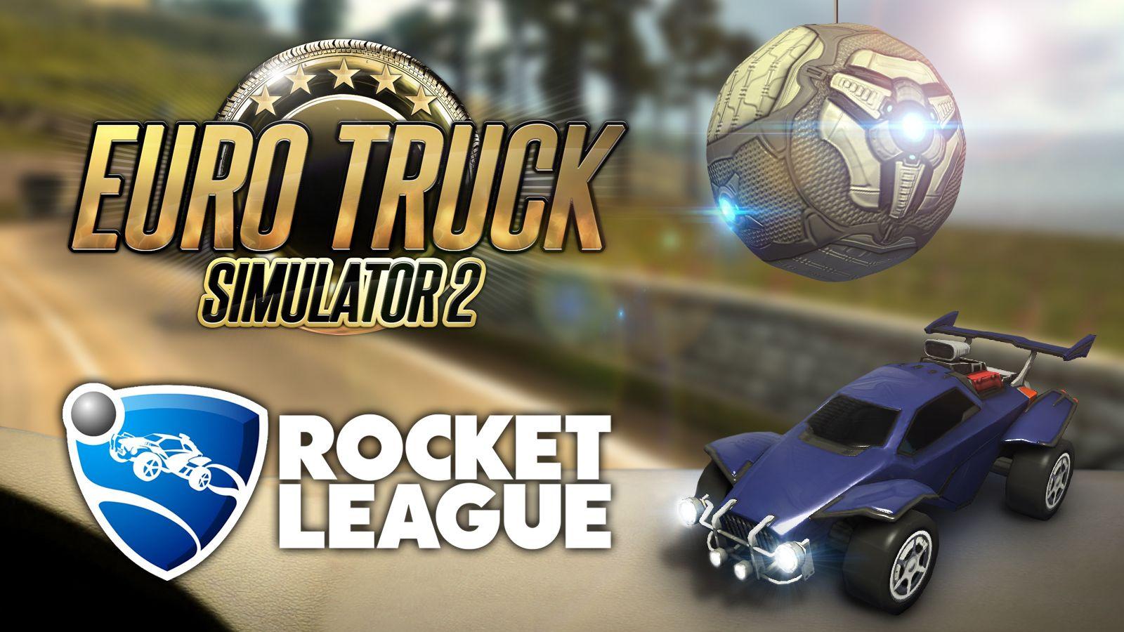 Euro Truck Simulator 2 и Rocket League