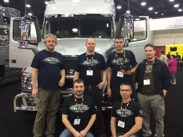 SCS Software на Mid-America Trucking Show 2016