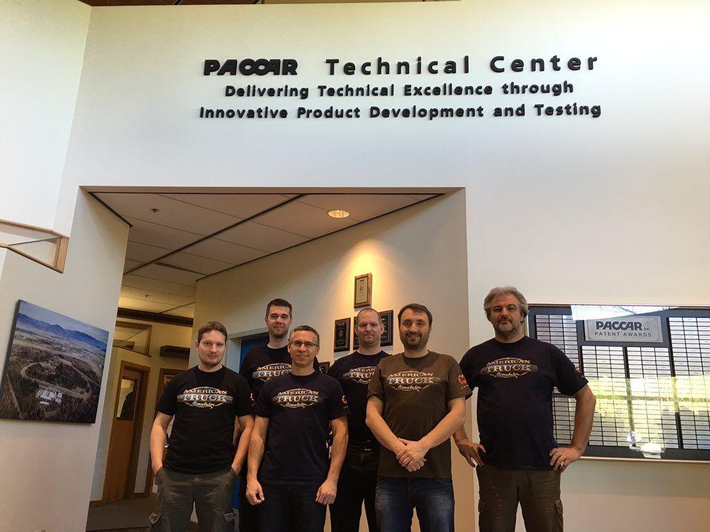 Сотрудники SCS Software посетили PACCAR Technical Center