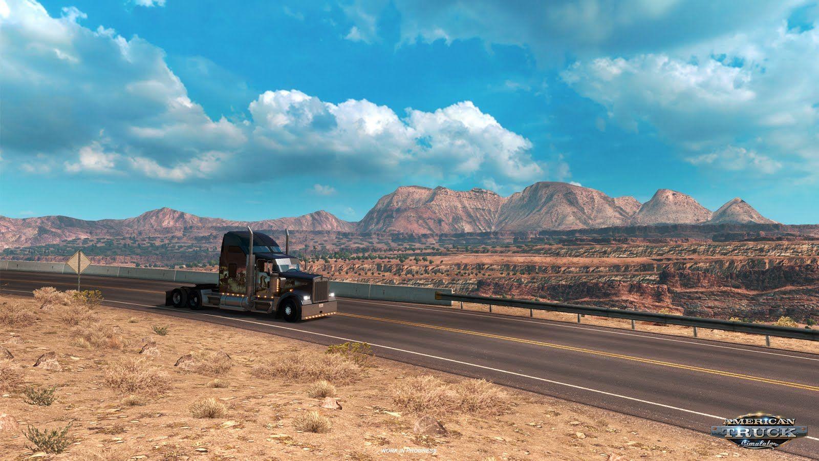 American Truck Simulator: обновление 1.3 (Открытый бета-тест)
