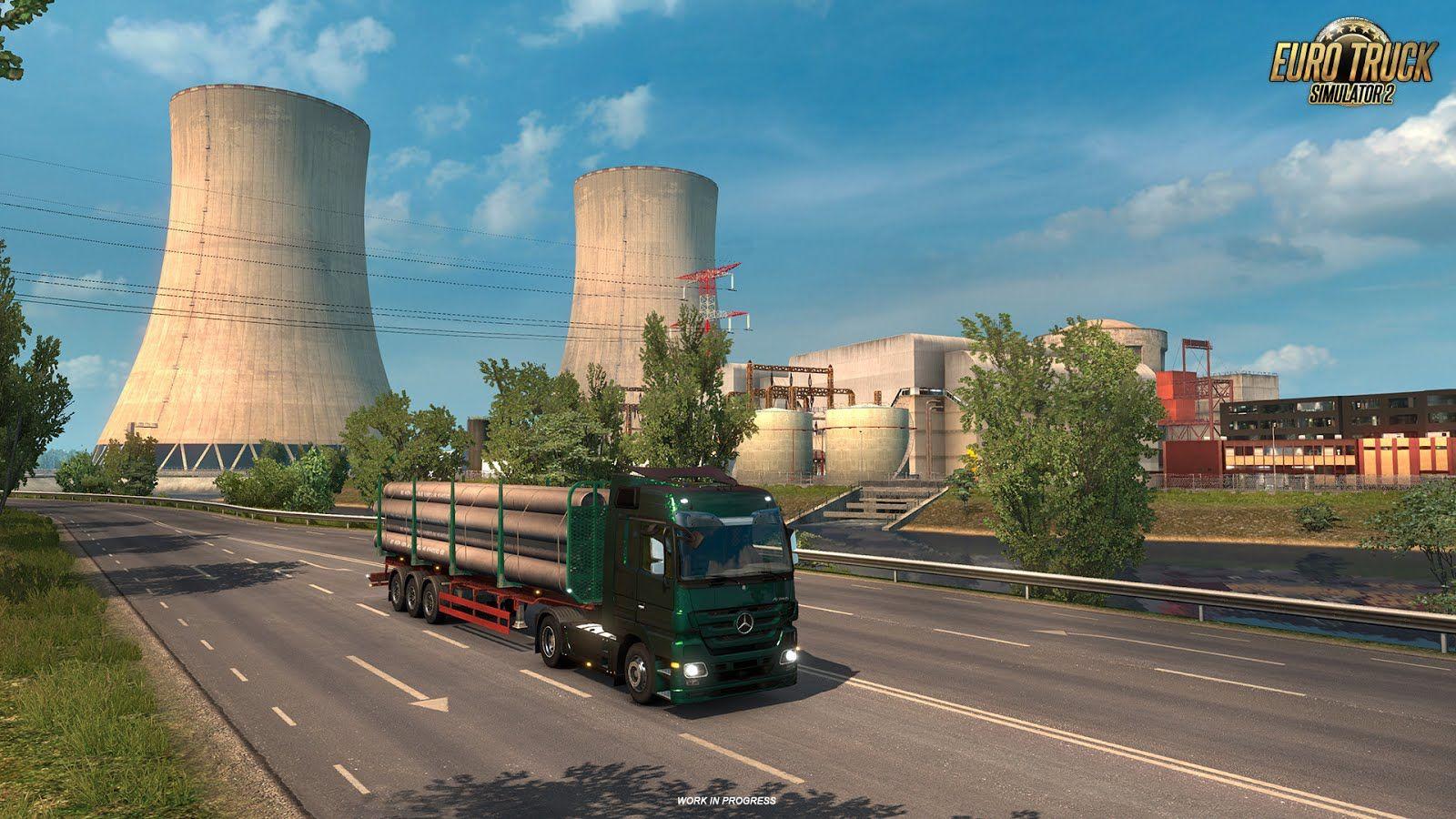 Euro Truck Simulator 2: новые типы производств в дополнении Vive la France