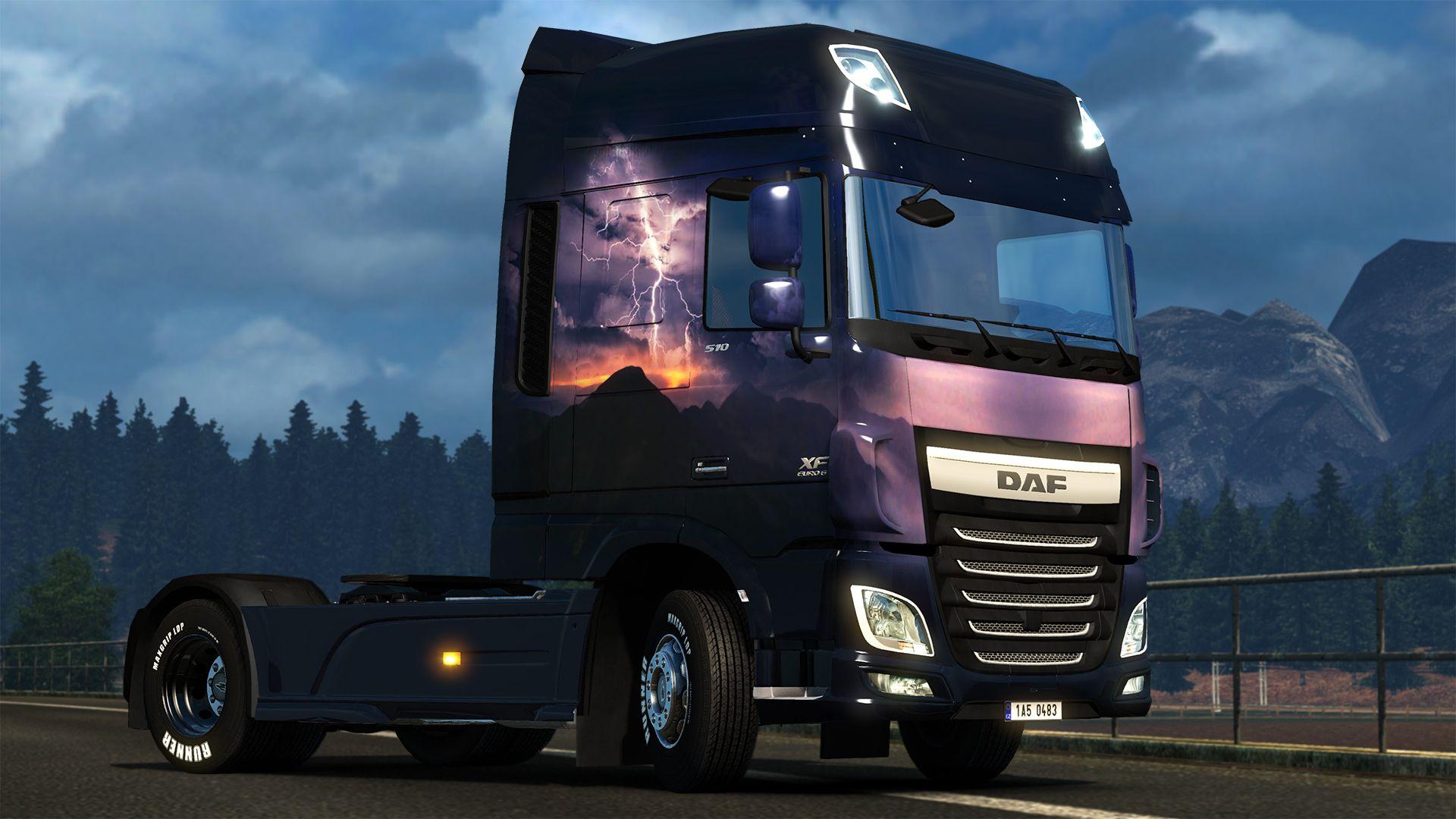 Euro Truck Simulator 2: релиз Italian и Slovak Paintjob DLC