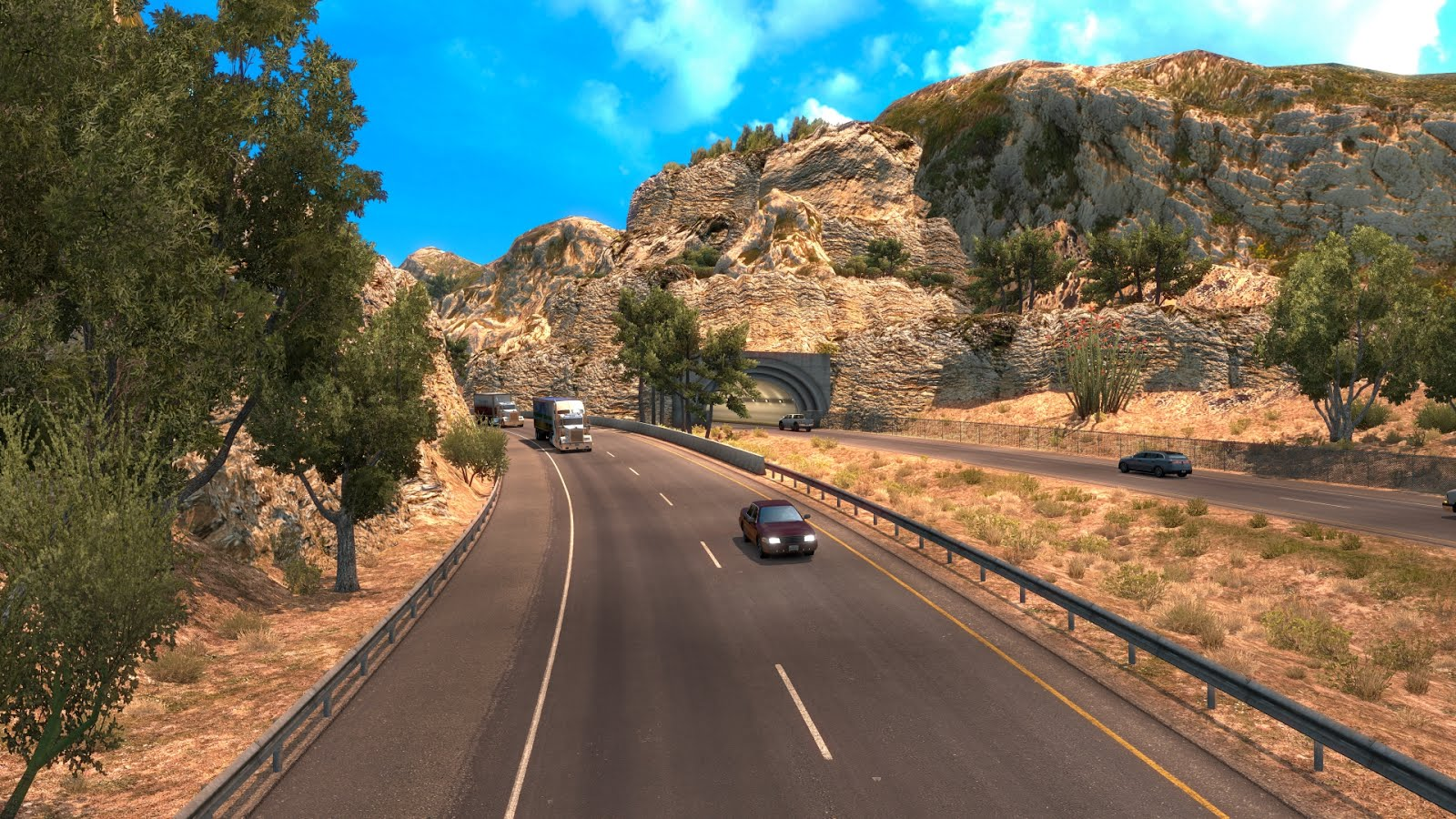 American Truck Simulator: обновление 1.6 (Открытый бета-тест)