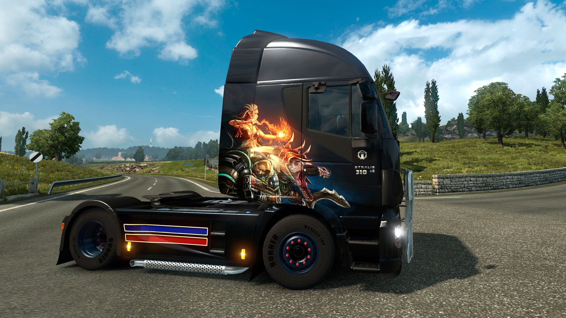 Euro Truck Simulator 2: релиз Chinese и South Korean Paint Jobs Pack
