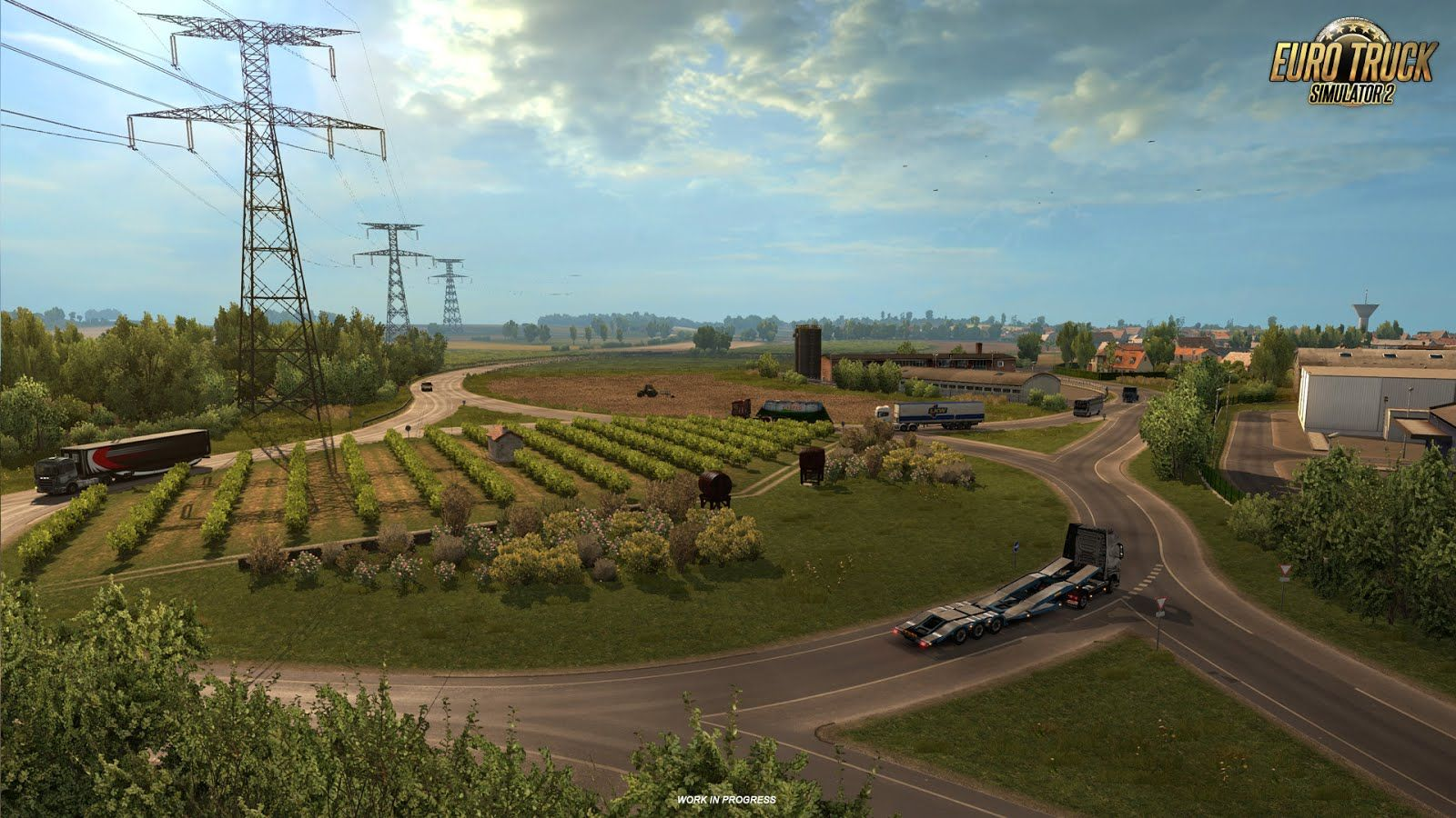 Euro Truck Simulator 2: новые скриншоты из дополнения Vive La France