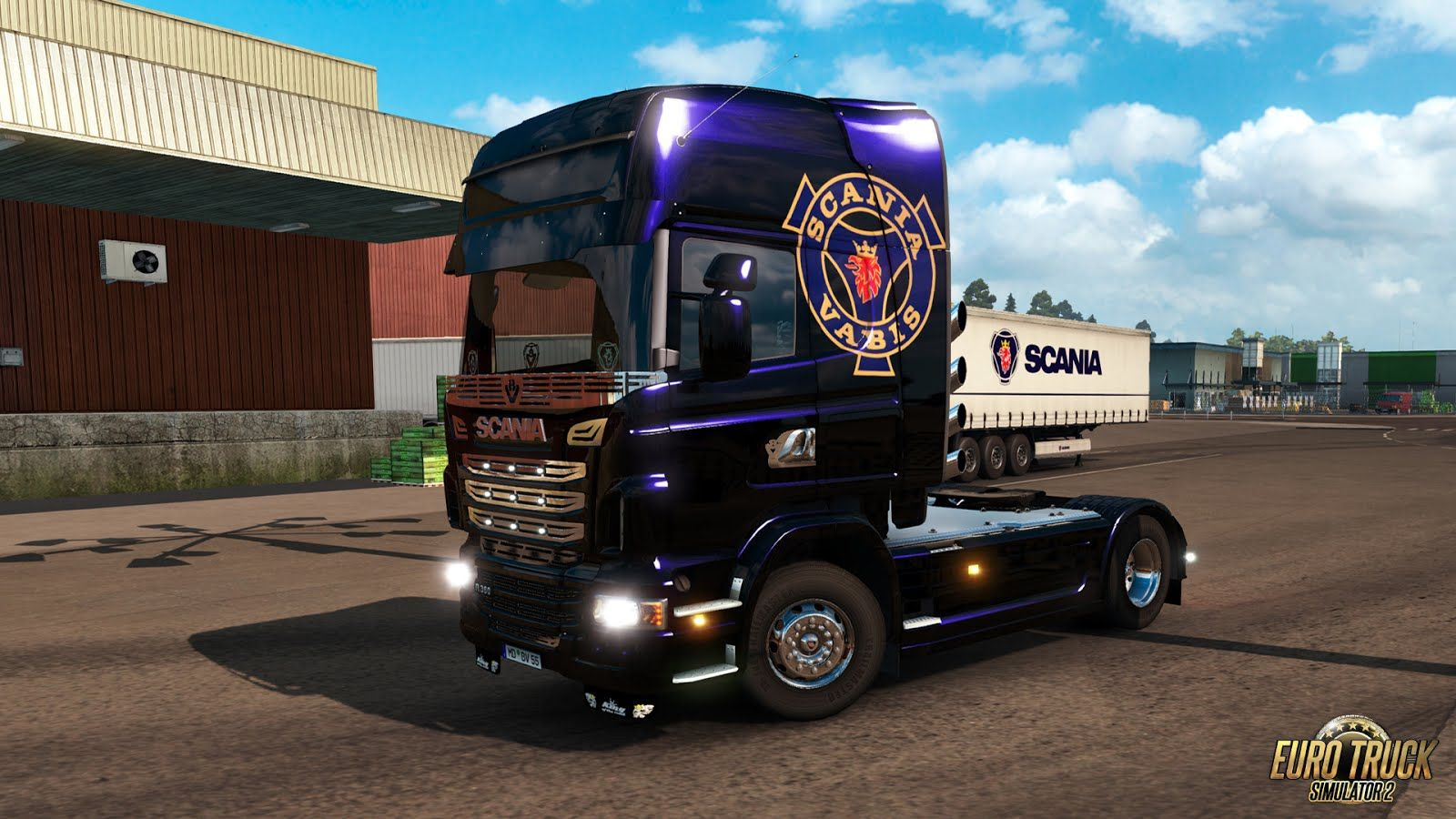 Euro Truck Simulator 2: вышло дополнение Mighty Griffin DLC Tuning Pack