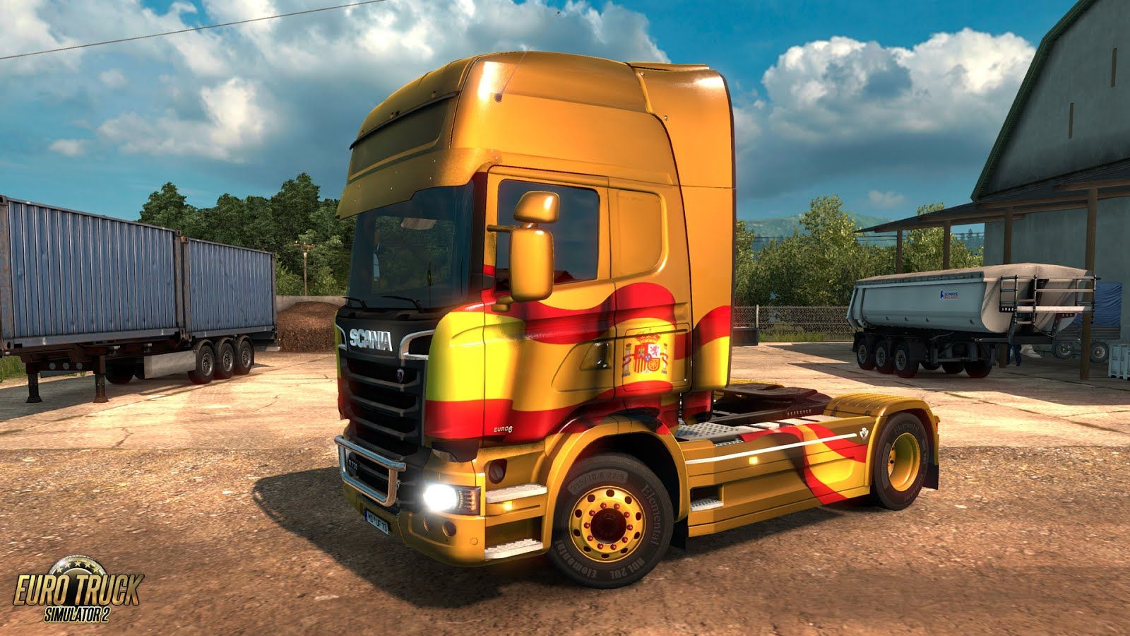 Euro Truck Simulator 2: Spanish Paintjobs Pack
