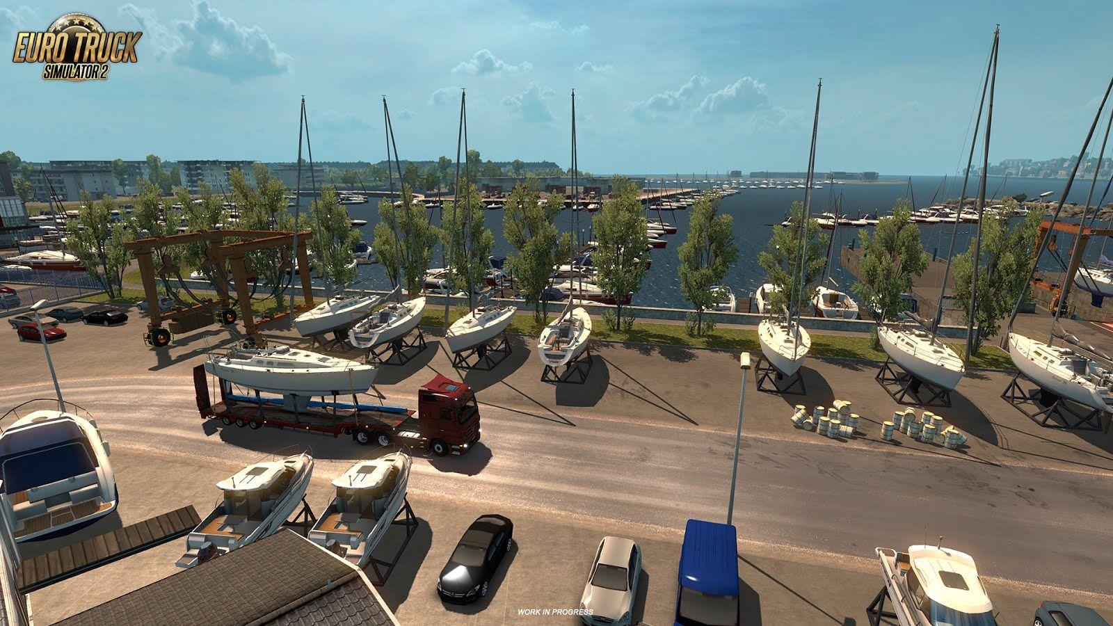 Euro Truck Simulator 2: новые подробности о дополнении Vive la France
