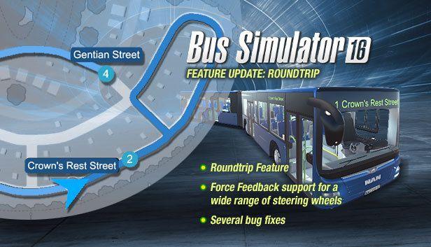 Bus Simulator 16: вышло 4-ое обновление игры