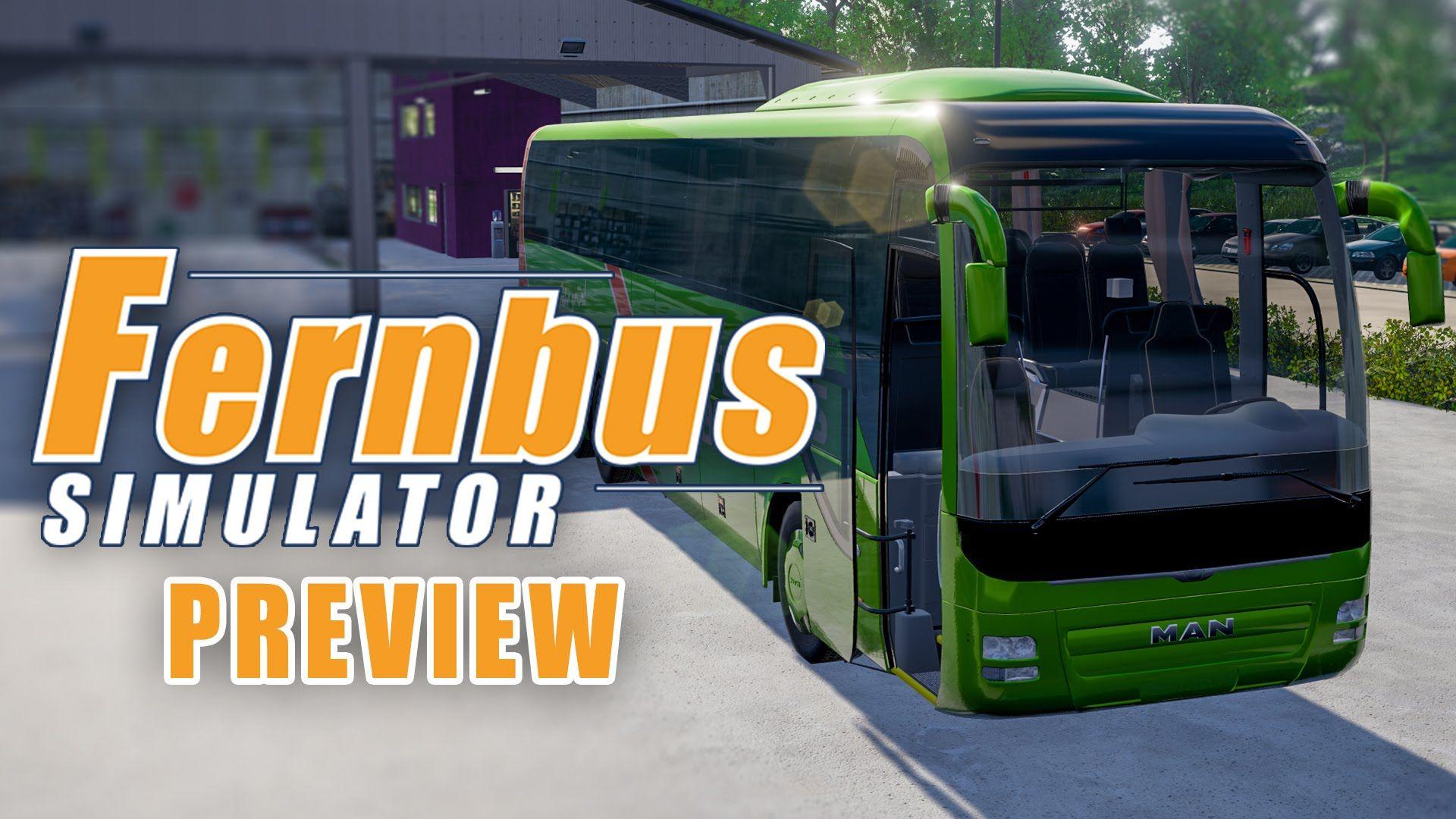 Fernbus Simulator: геймплей + разговор с разработчиками [Видео]