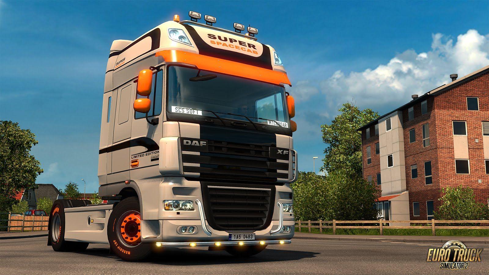 Euro Truck Simulator 2: обновление грузовикаDAF XF 105