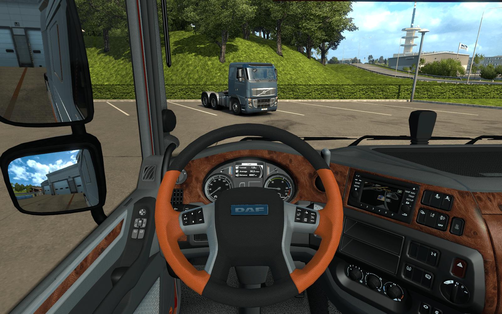 Улучшение кабин грузовиков в ETS 2 и ATS