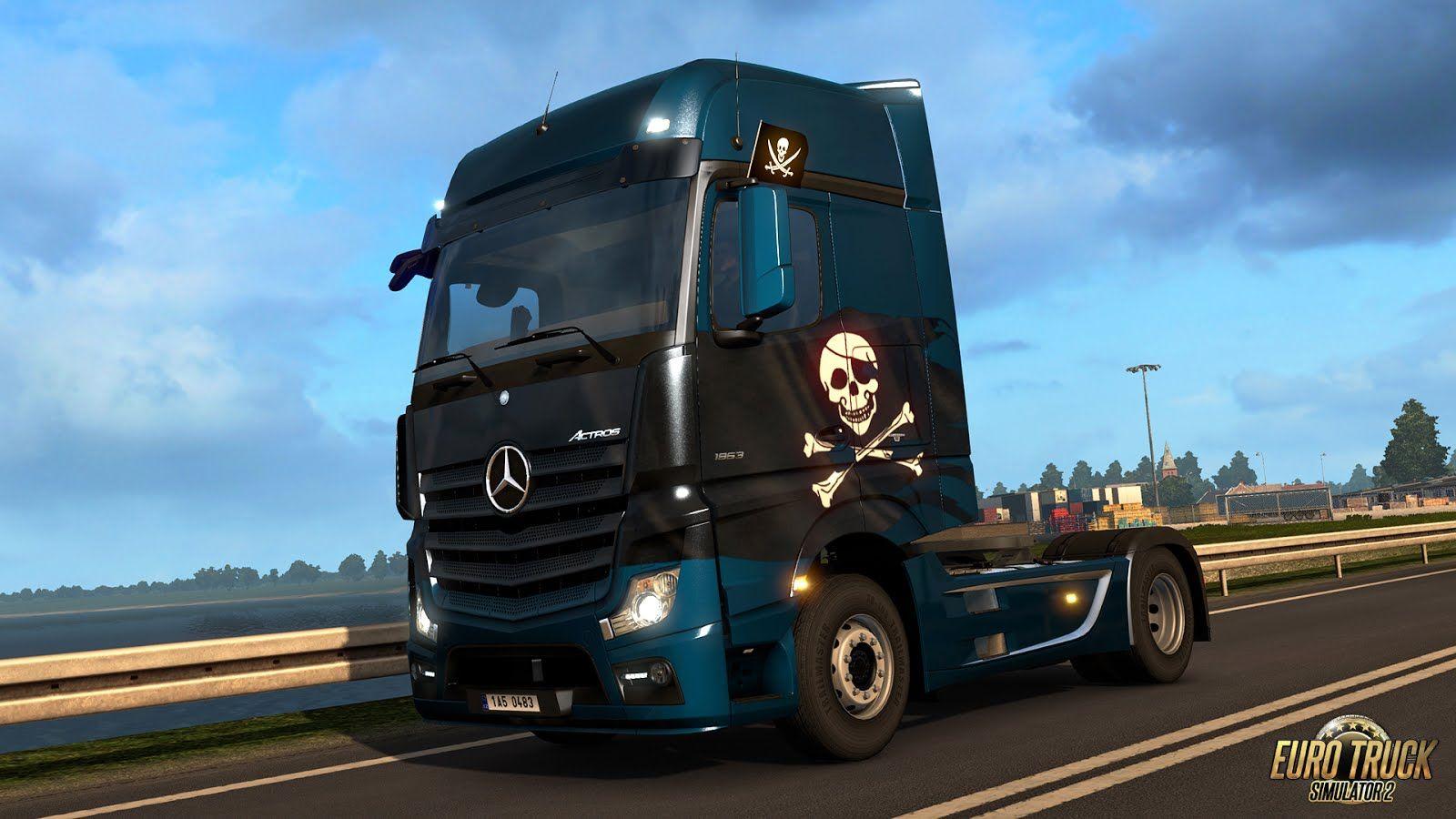 Euro Truck Simulator 2: вышло дополнение Pirates Paint Jobs Pack