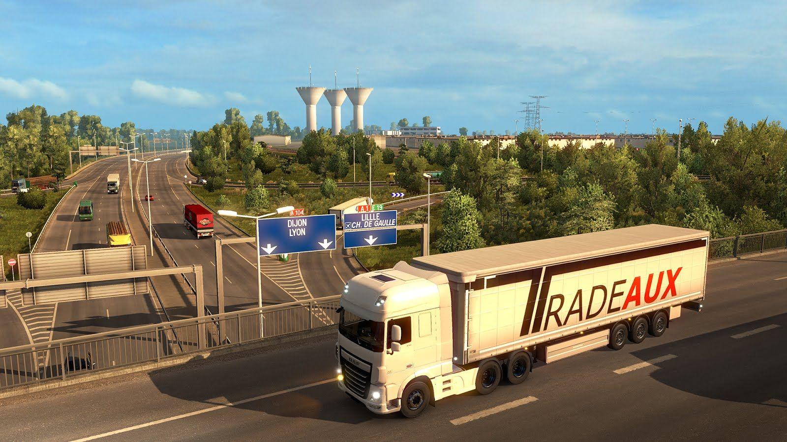 Euro Truck Simulator 2: выход дополнения Vive la France! всё ближе
