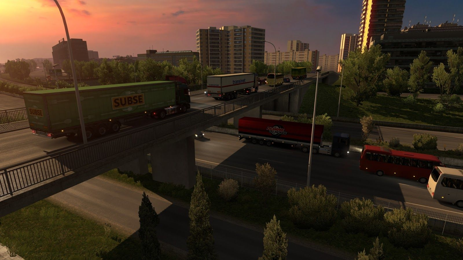 Состоялся релиз обновления Euro Truck Simulator 2 1.26