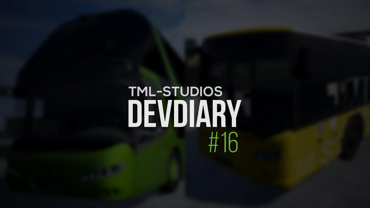 TML Studios: дневники разработчиков #16 (Fernbus Simulator и City Bus Simulator)