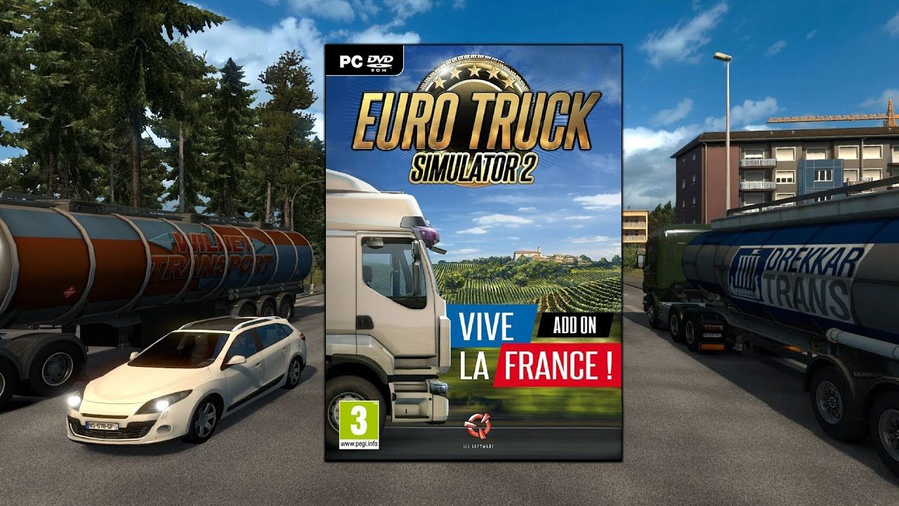 ETS 2: Vive la France! - первые видеоролики от сообщества
