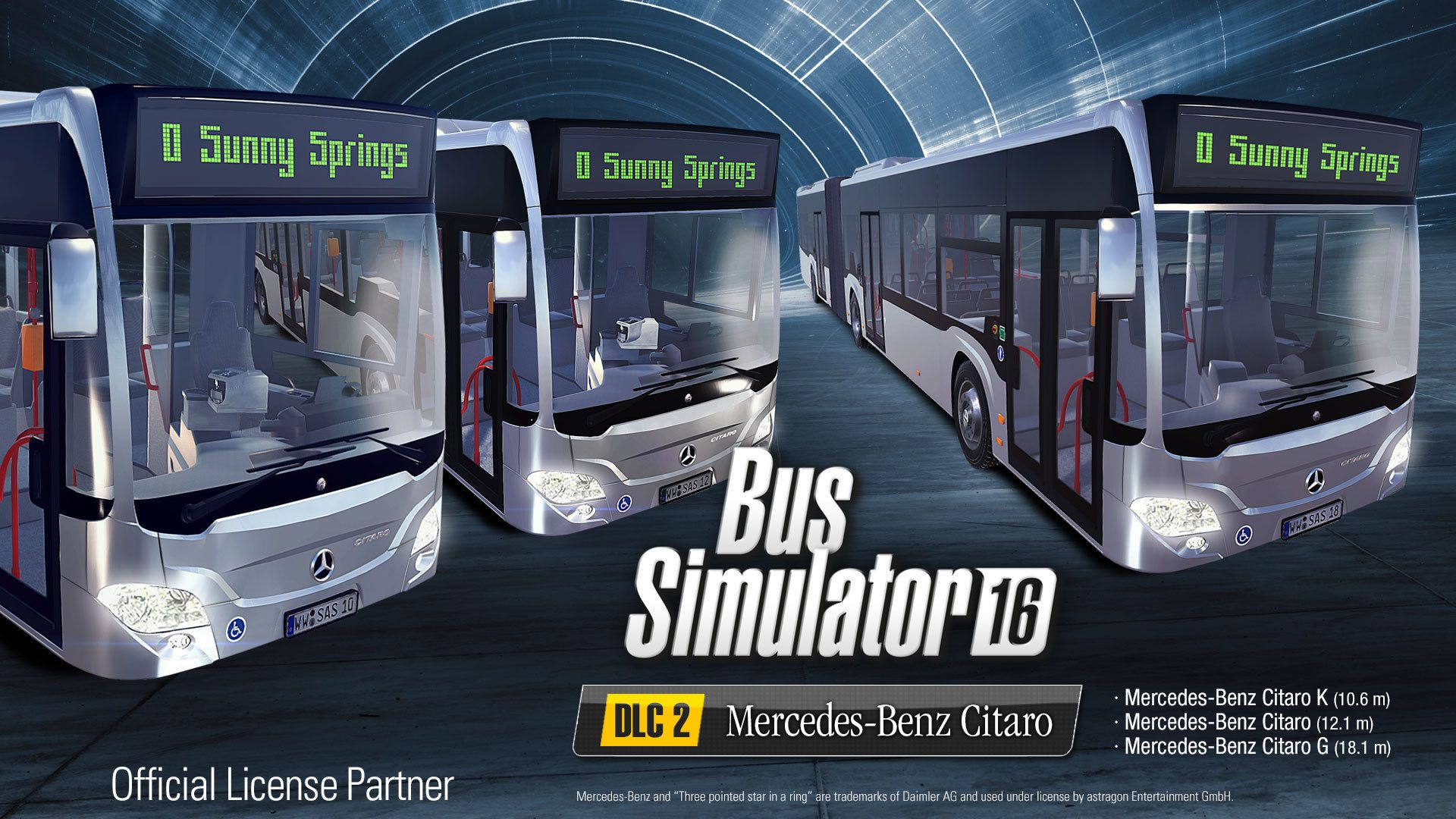 Bus Simulator 16 - Mercedes-Benz Citaro DLC