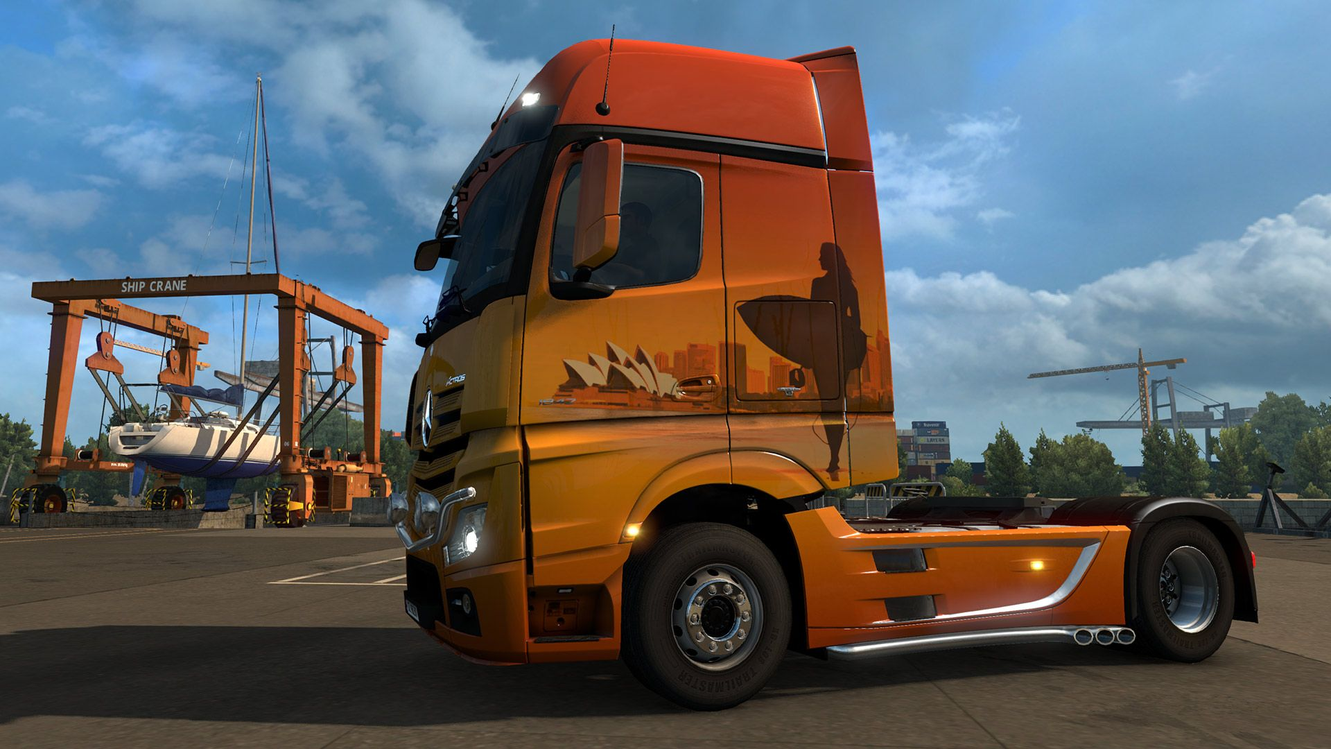 Euro Truck Simulator 2: релиз Romanian и Australian Paint Jobs Pack